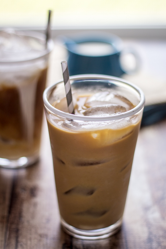Perfect homemade iced coffee