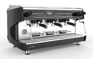 Gaggia La Decisa 3 group traditional barista coffee machine