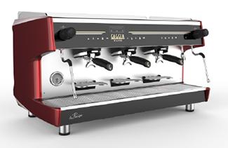 Gaggia La Precisa 3 group traditional barista coffee machine